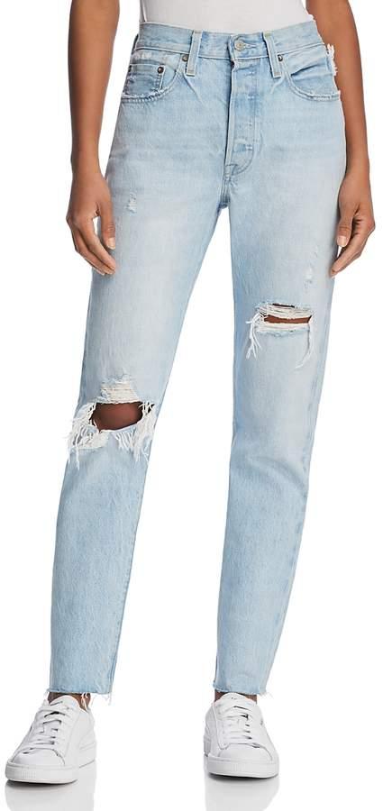 501 Skinny Jeans in Semi Charming