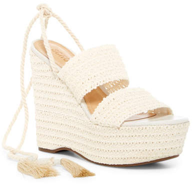 Schutz Bendy Platform Wedge Sandal