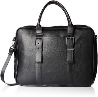 Calvin Klein Men's Pebble Leather Attache