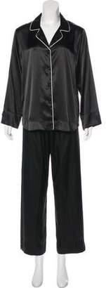 Oscar de la Renta Satin Pajama Set w/ Tags