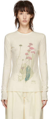 Loewe Off-White Botanical Long Sleeve T-Shirt