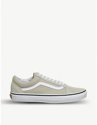 Vans Old Skool low-top canvas and suede trainers