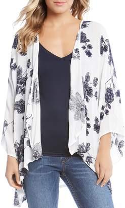 Karen Kane Floral Embroidered Kimono - 100% Exclusive