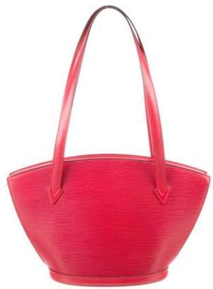 Louis Vuitton Epi Saint-Jacques Shopping PM Red Epi Saint-Jacques Shopping PM