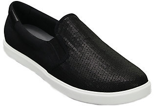 Crocs Slip-on Sneakers - Citi Lane Sequin $54 thestylecure.com