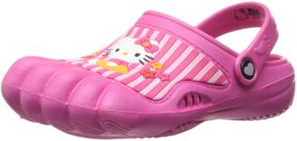 SANRIO Hello Kitty Kids Pink Silly Feet Clogs 01070 (2/3 M US Little Kid)