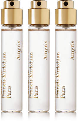 Francis Kurkdjian Amyris Femme Eau De Parfums Travel Set - Lemon Tree Flower & Iris, 3 X 11ml