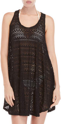 Jordan Taylor Lace Cover-Up Tank Dress