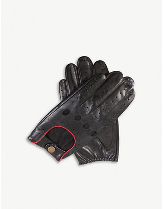 Dents Leather touchscreen driving gloves