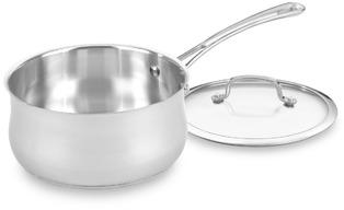 Cuisinart Contour™ Stainless Steel 3-Quart Covered Saucepan