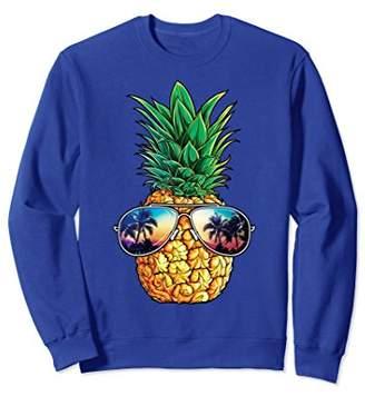 Pineapple Sunglasses Sweatshirt Aloha Beaches Hawaiian Gifts