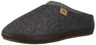 Freewaters Men's Jeffrey House Shoe Slipper with Happy Arch Support and Durable Indoor/Outdoor Sole