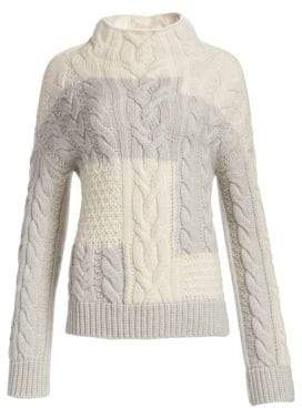 Loro Piana Baby Cashmere Cabled Sweater