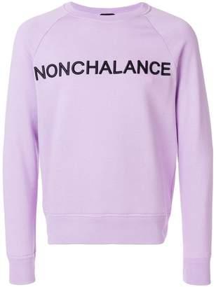 No.21 Nonchalance sweatshirt