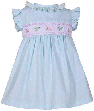 63a1a58645f Bonnie Jean Short Sleeve Floral A-Line Dress Girls
