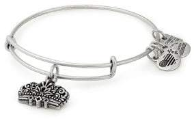 Alex and Ani Queen's Crown Charm Bangle Bracelet