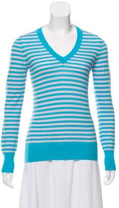 Barneys New York Barney's New York Cashmere Striped Sweater