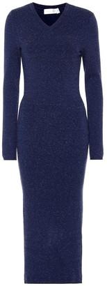 Victoria Beckham Wool-blend midi dress