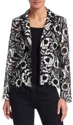 Nanette Lepore Floral Lace Jacket