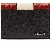 Bally Men's Talder Pebbled Leather Card Holder