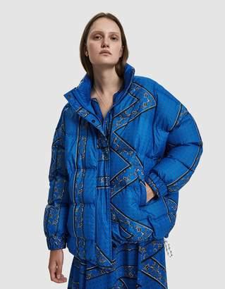 Ganni Foxworth Paisley Puffer Jacket