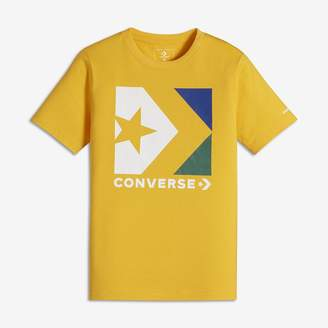 Converse Star Chevron Box Big Kids (Boys') Graphic T-Shirt