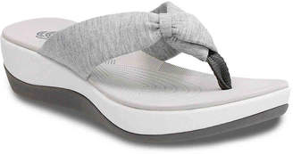 Clarks Cloudsteppers by Arla Glison Wedge Sandal - Women's