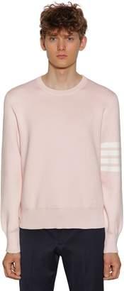 Thom Browne Milano Stitch Cotton Sweater