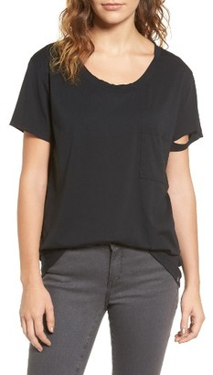 Women's Treasure & Bond Destroyed Tee $49 thestylecure.com