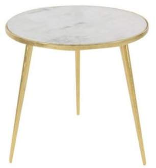 Cole & Grey Marble End Table