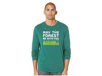 Life is Good Forest Be With You Smooth Long Sleeve T-Shirt