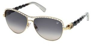 Swarovski Aviator Sunglasses