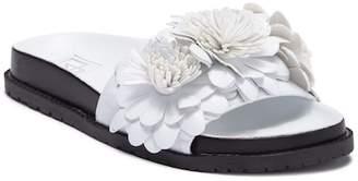 L4L Kimchi Floral Accent Slide Sandal