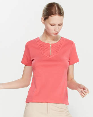 Rafaella Petite Essential Short Sleeve Top