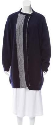 Hermes Striped Wool Cardigan
