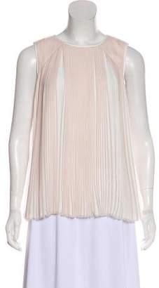Designers Remix Charlotte Eskildsen Pleated Sleeveless Blouse