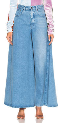 Y/Project Pant Skirt in Ice Blue | FWRD