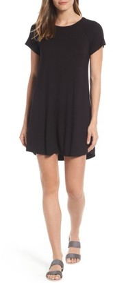Women's Bobeau Back Cutout Tunic Dress $49 thestylecure.com