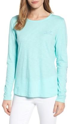 Women's Vineyard Vines Long Sleeve Logo Tee $49.50 thestylecure.com