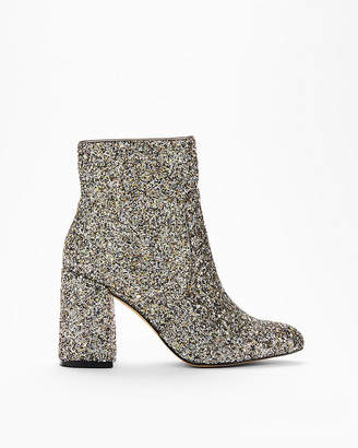 Express Glitter Pointed Toe Boots