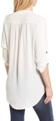 Lush Perfect Roll Tab Sleeve Tunic