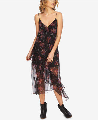 1 STATE 1.state Ruffled Slip Dress
