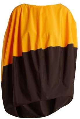 Marni Bi Colour Cotton Poplin Top - Womens - Orange Multi
