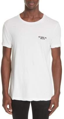 Ksubi Miss Information Graphic T-Shirt