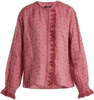 Isabel Marant Namos ruffle-trimmed blouse