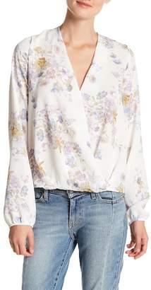Sadie & Sage Long Sleeve Patterned Blouse