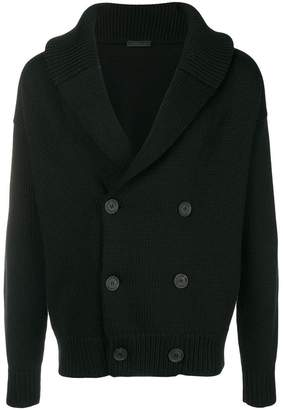 Prada double breasted cardigan