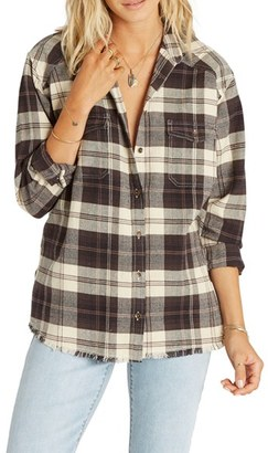 Billabong Wild Adventure Plaid Flannel Shirt $49.95 thestylecure.com