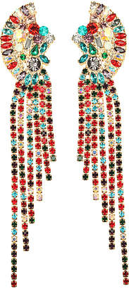 Eye Candy Los Angeles Crystal Statement Earrings