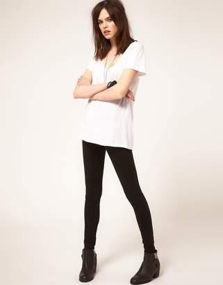 Dr. Denim Jeans With Super High Waist